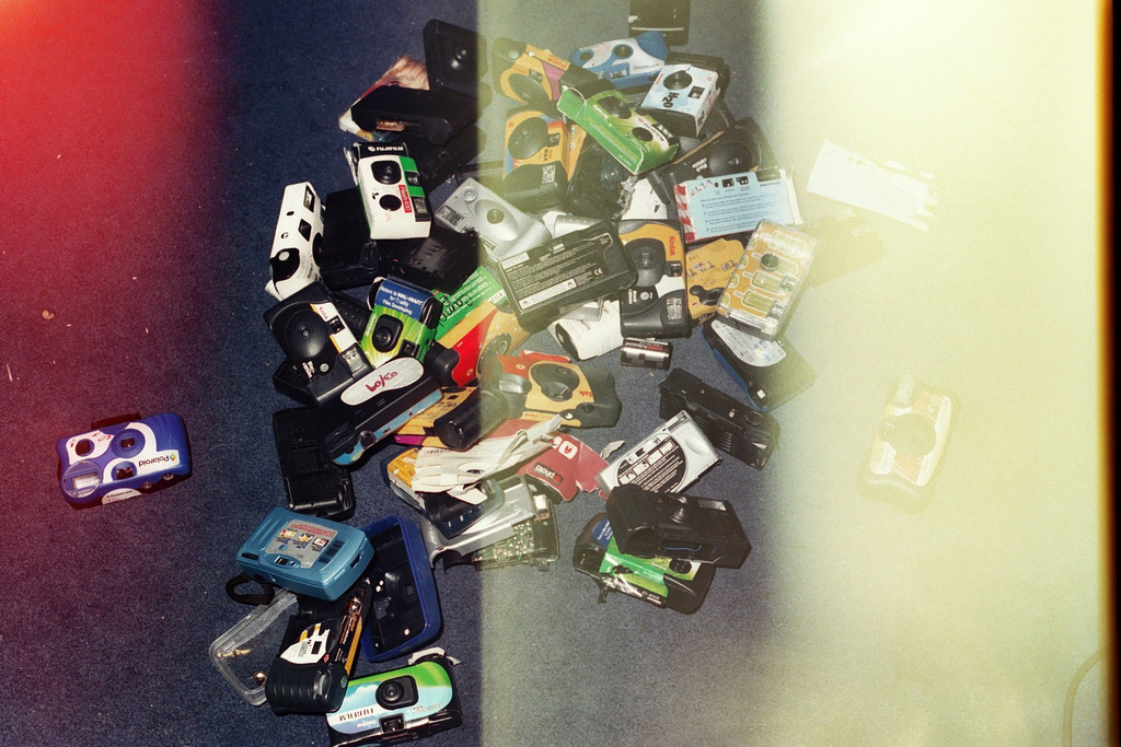 disposable camera collection